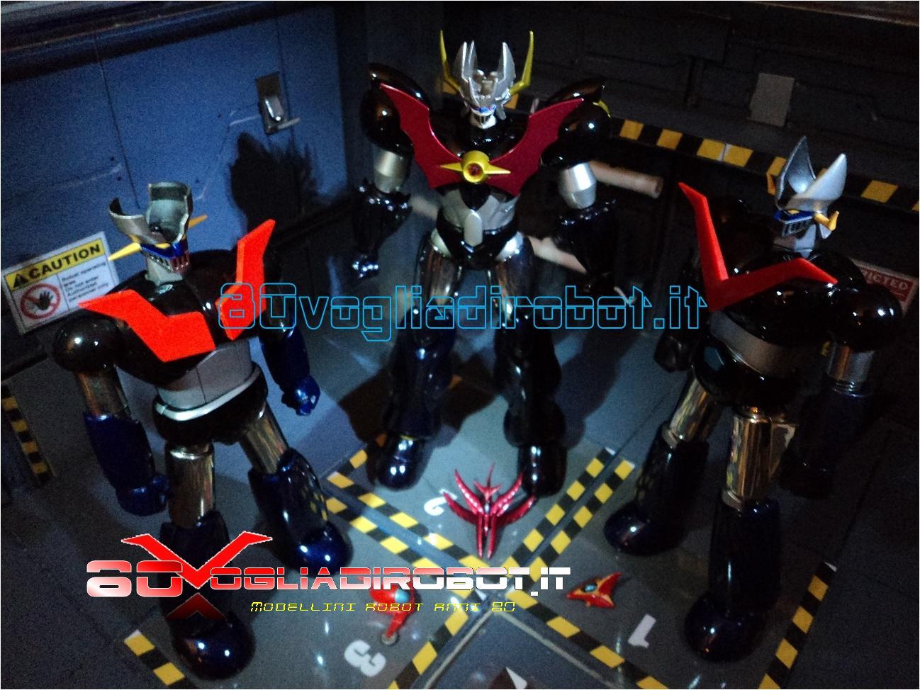 Robot anni robottoni giapponesi modelli