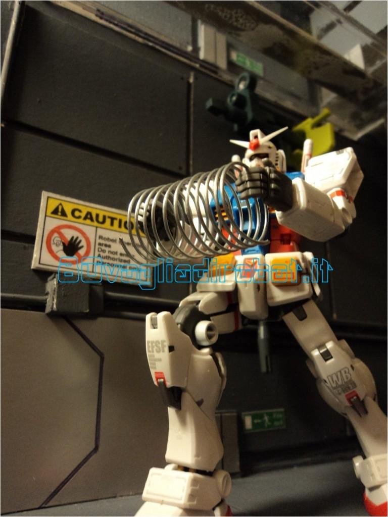 GUNDAM 4RX 78 SUPER HCM PRO BANDAI, modellini robot anni 80