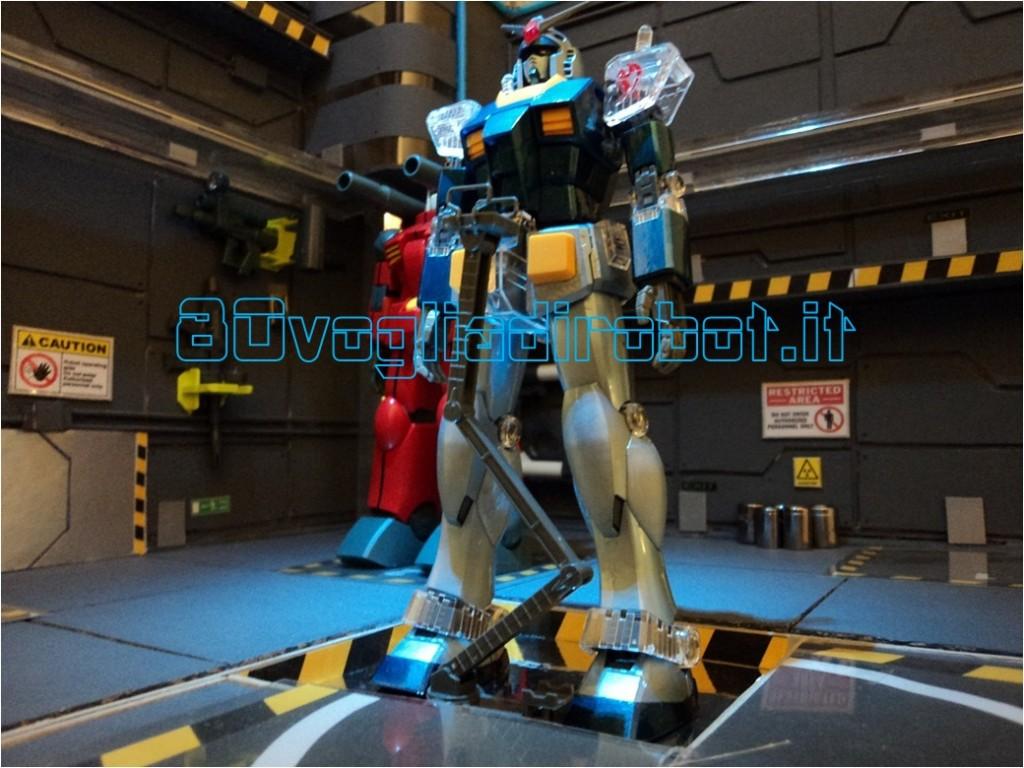 "GUNDAM RX 78 BANDAI ""Blue Moon"" 80vogliadirobot painted"