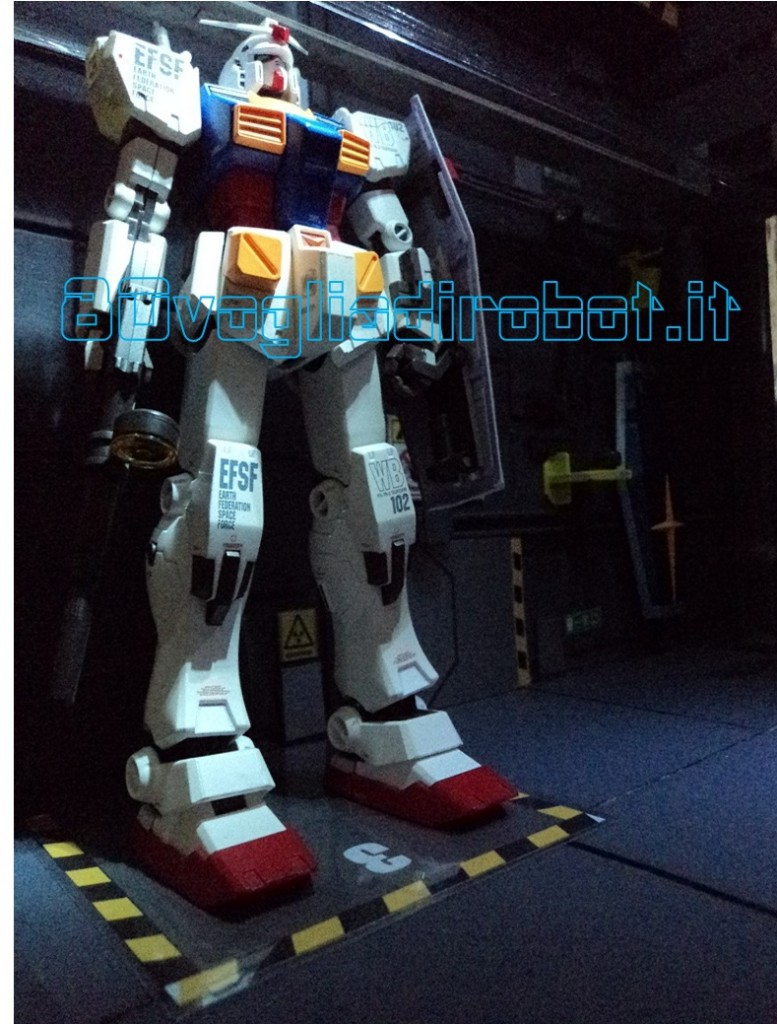 GUNDAM RX 78 METAL COMPOSITE # 1004 VER. KA FIX FIGURATION - BANDAI