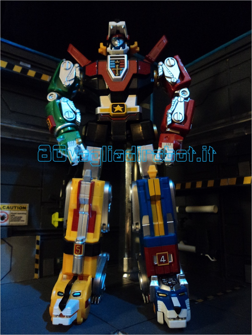 Voltron modellino voltron toynami modellini robot anni