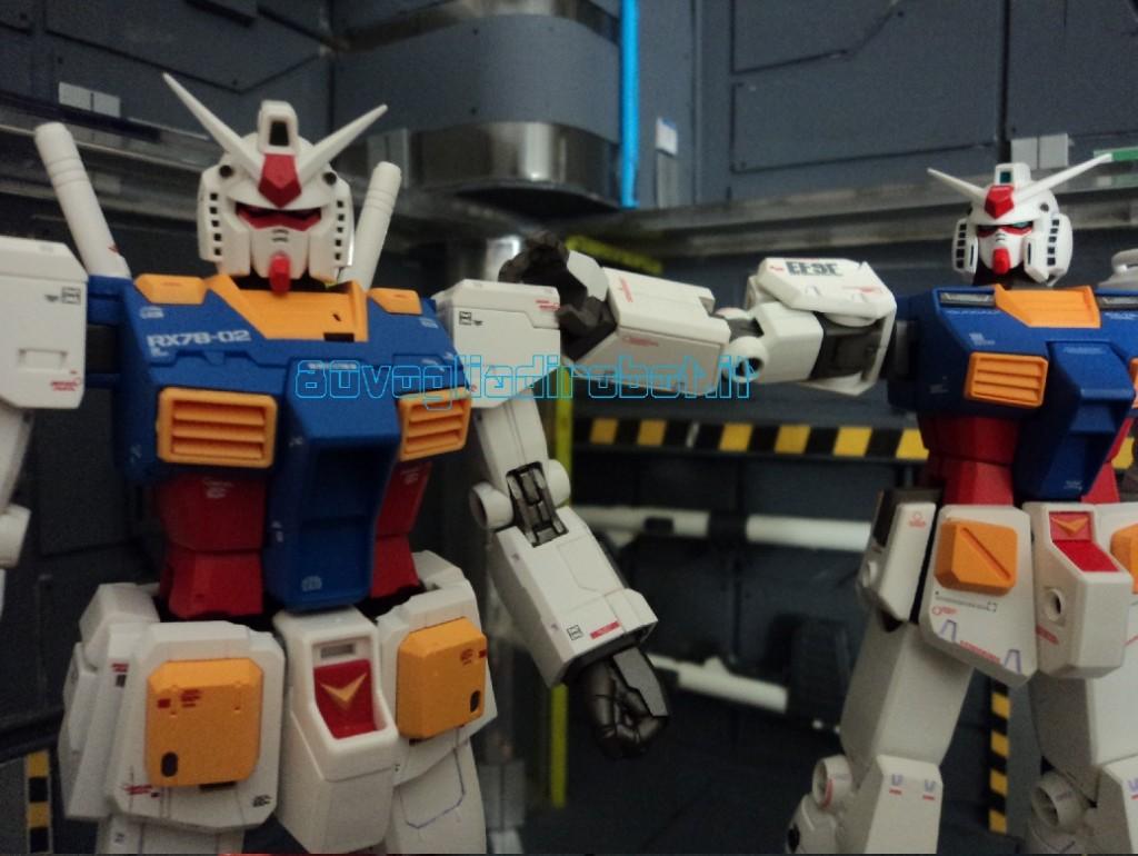 GUNDAM THE ORIGIN METAL Composite #1009 RX-78-2 # 1004 ver.ka modellini robot anni 80 3