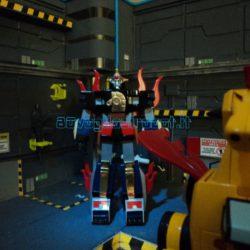 KING STAR CALENDAR MAN 2 modellini robot anni 80