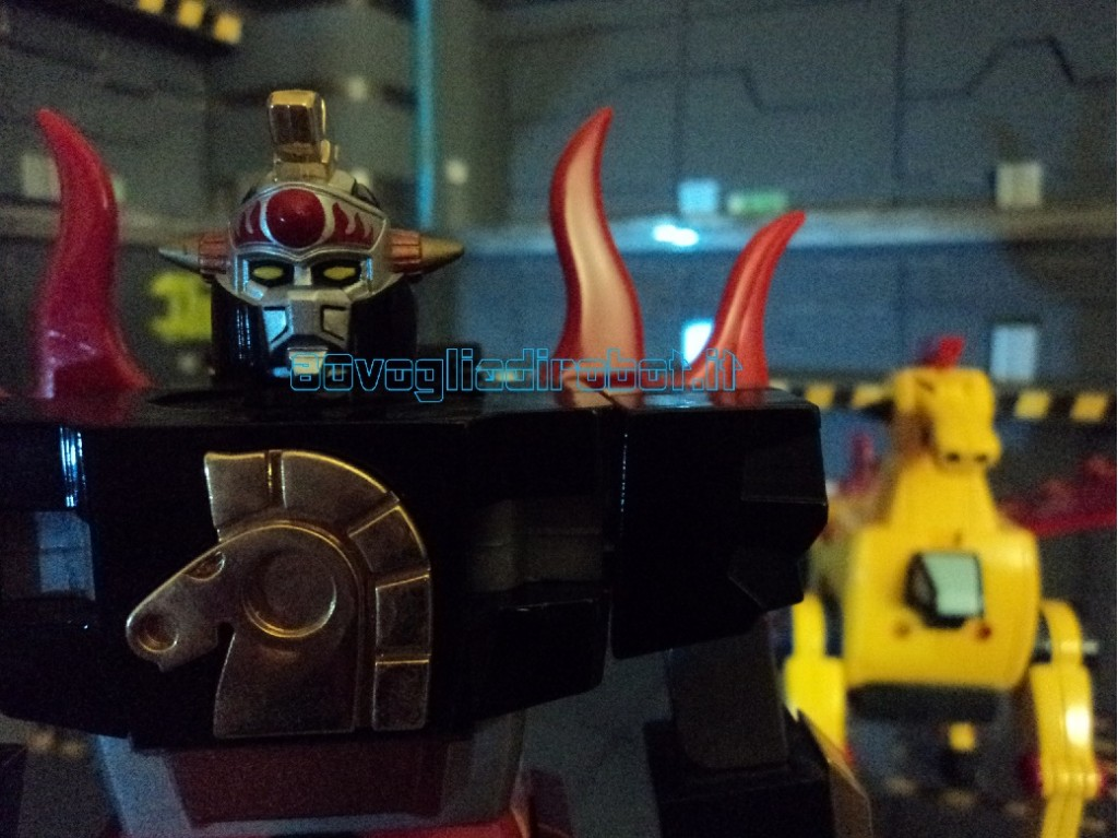 KING STAR CALENDAR MAN 3 modellini robot anni 80
