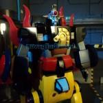 KING STAR CALENDAR MAN modellini robot anni 80