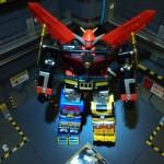 god sigma gx 60 BANDAI modellini robot anni 80 3