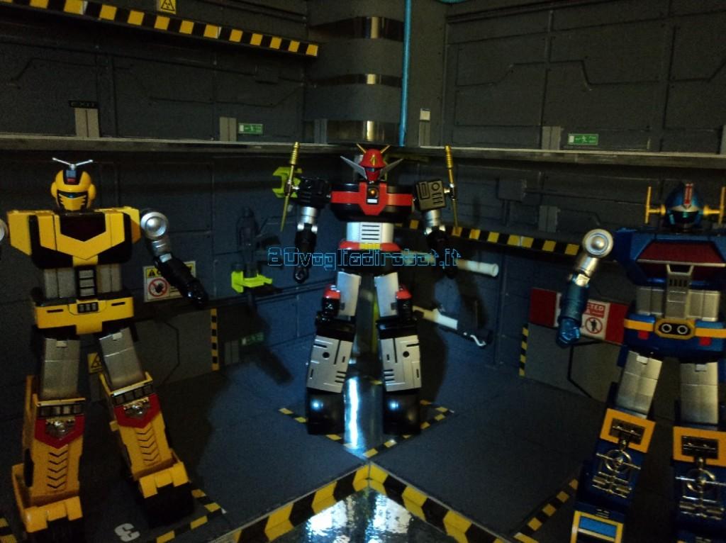 god sigma gx 60 BANDAI modellini robot anni 80 4