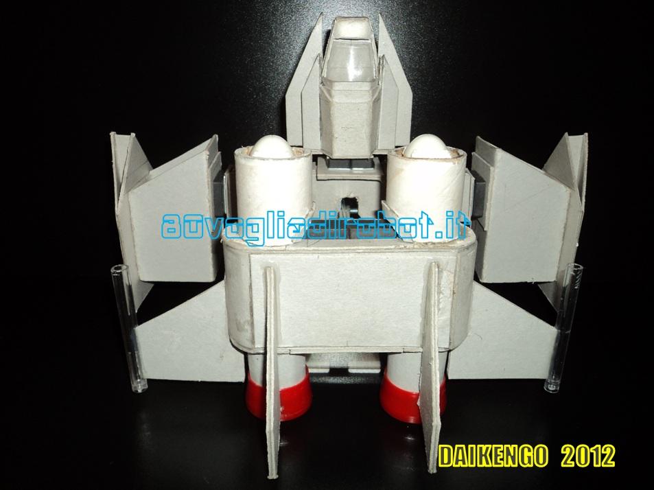 Combat Ship progetto immagini . Daikengo modellino robot 4