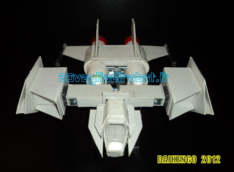 Combat Ship progetto immagini. Daikengo modellino robot