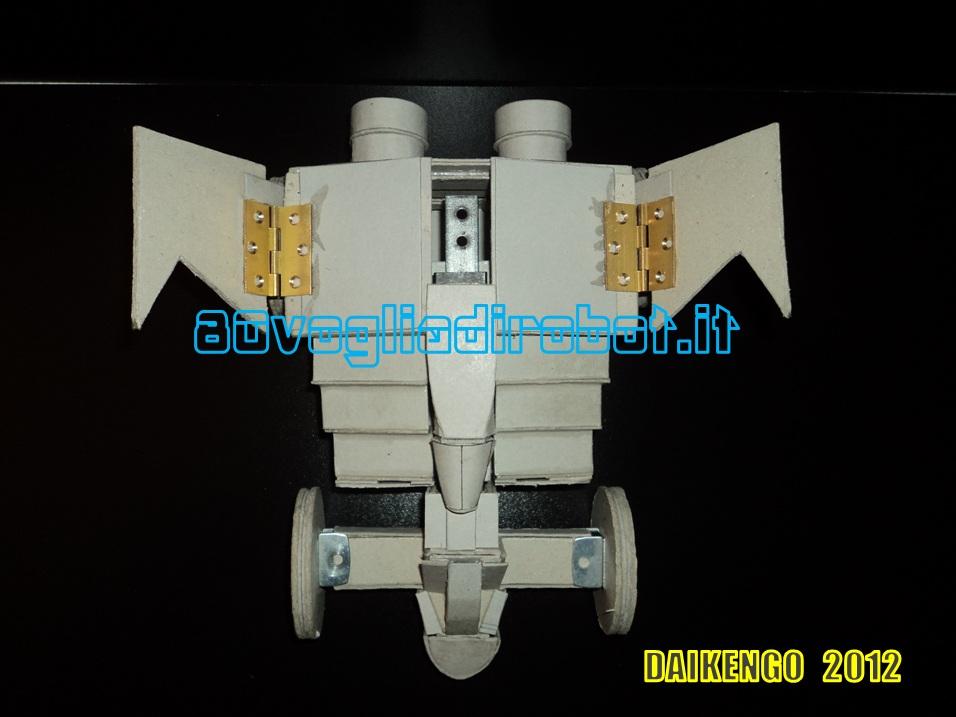 daiken buggy progetto, daikengo modellino robot