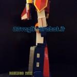 Daikengo modellino robot profilo w