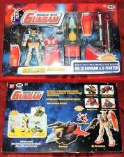 GIG BANDAI 2001 MOBILE SUIT RX-78 GUNDAM & G-FIGHTER MISB