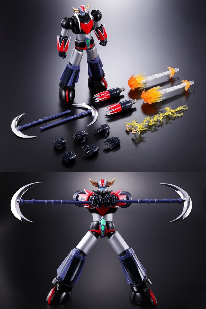 goldrake super robot chogokin, 1