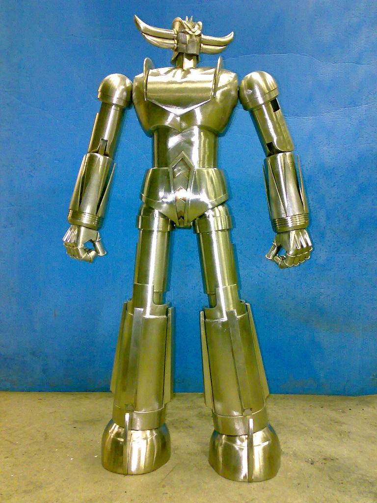 Goldrake jumbo acciaio inox grendizer cm kg