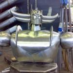 goldrake-jumbo-acciaio-inox-costruzione-busto-2