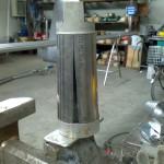 goldrake-jumbo-acciaio-inox-costruzione-gambe