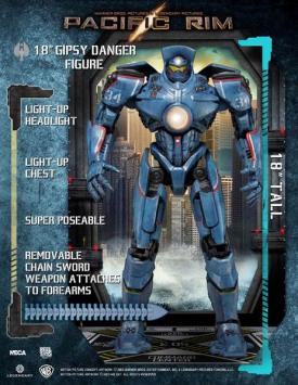 Pacific-Rim modellino- Jaeger-Gipsy Danger