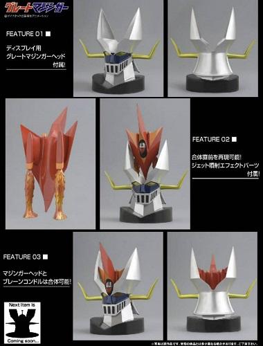 great-mazinger-head-robot-model
