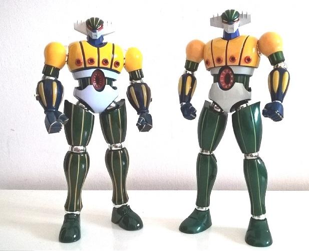 Jeeg Zona Project modellino robot