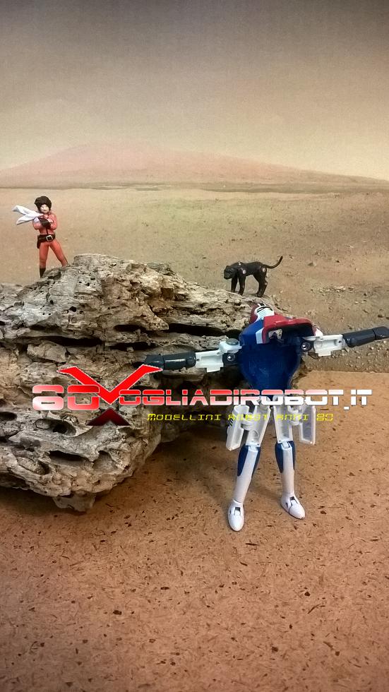 diorama deserto fatto a mano