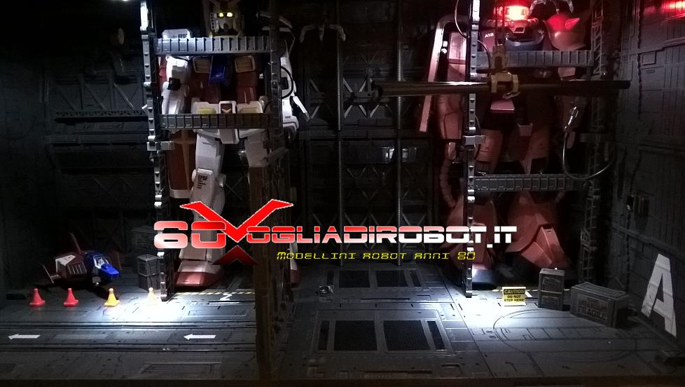 diorama modellini robot